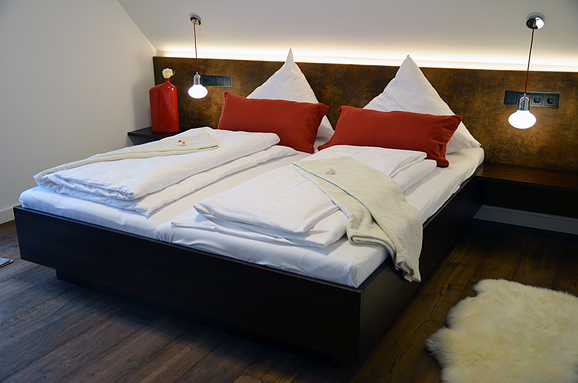Bezaubernd Bett Romantisch Ideen Von Quartier